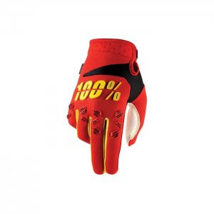 100% Airmatic Handschuh in rot