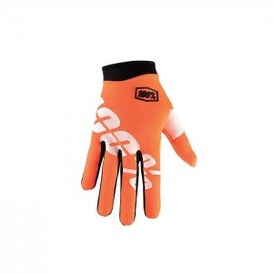 100% Itrack Cal-Trans Handschuh in orange