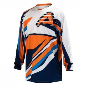 Acerbis Kinder Jersey X-Gear in orange-blau
