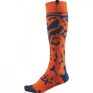 Fox Racing Coolmax® Socken Thin Cauz in orange 2016