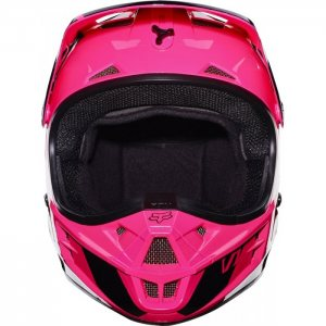 Fox V1 Race Helm 2017 in pink