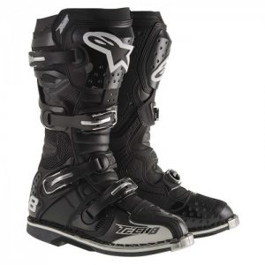 Motocross-Stiefel Tech 8 RS in schwarz 2015