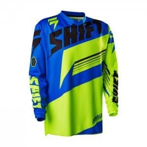 Shift Assault Jersey in gelb-blau