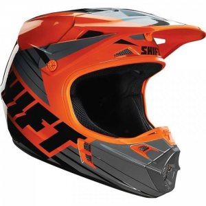 Shift Assault Race Helm in orange