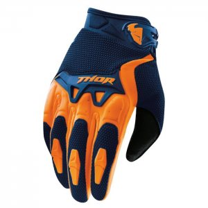 Thor Spectrum Offroad Handschuh in Orange-Navy