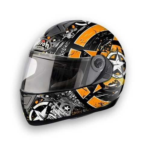 Airoh Aster-X Skull orange
