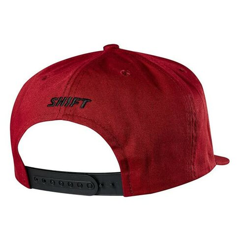 SHIFT Corp Hat Snapback Dunkel Rot DRK RD