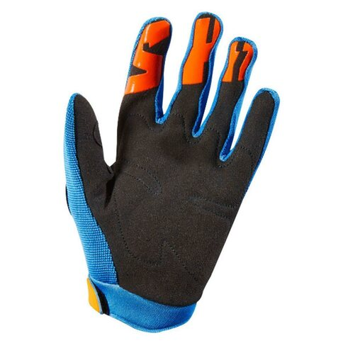 Shift WHIT3 Air Jugend Handschuhe Blau/Orange Youth L