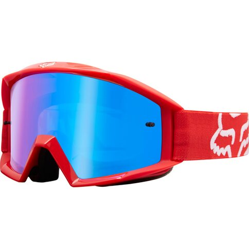 Fox Crossbrille Main Race Rot