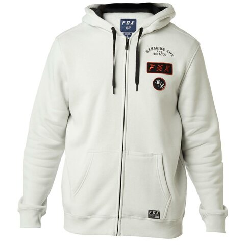 Fox District 4 Fleece Zip Grau