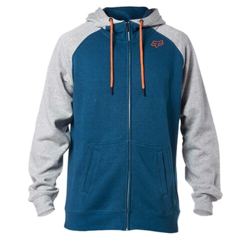 FOX Recoiler Zip Fleece Grau Blau