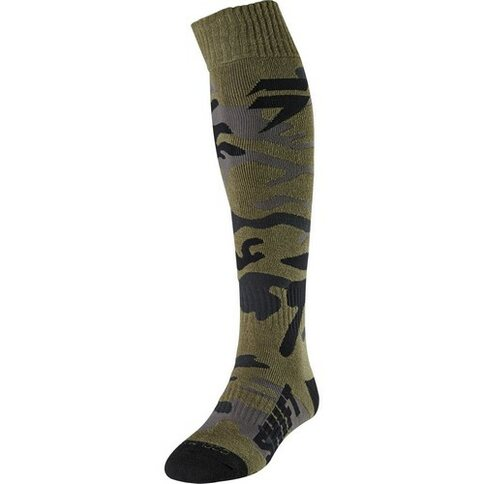 Shift WHIT3 Label Socken Grün Camoflage