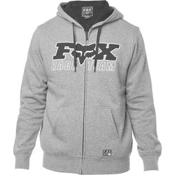 Fox Zip-Hoody Race Team Sherpa Heather Grey