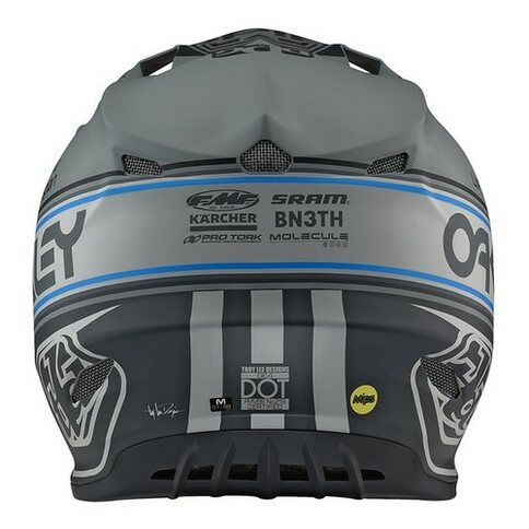 Troy Lee Designs SE4 Helm Team Edition 2 Grau