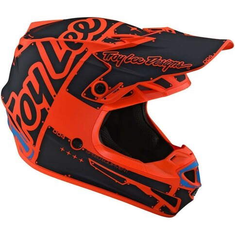 Troy Lee Designs SE4 Helm Factory Orange