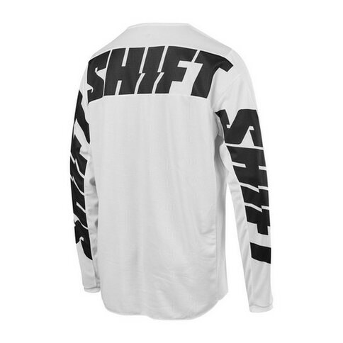 Shift Jersey Whit3 Label York Weiß