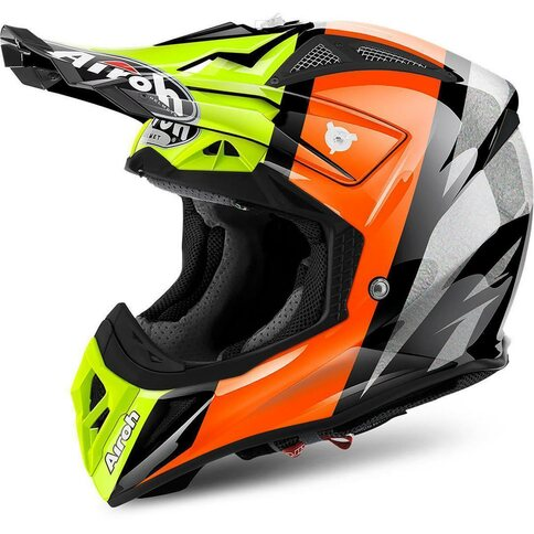 Airoh Aviator 2.2 Revolve Schwarz Orange