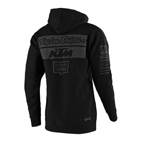 Troy Lee Designs KTM Team Pullover Grau Schwarz