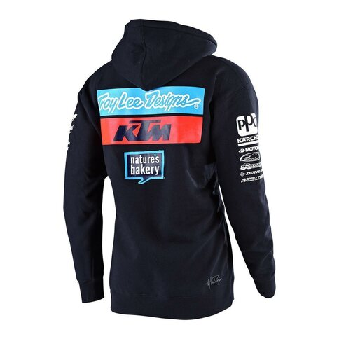 Troy Lee Designs KTM Team Pullover Blau