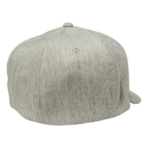 Fox Flexfit Cap Number 2 Light Heather Grey