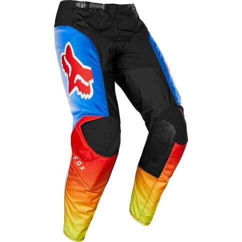 Fox YTH 180 PRIX PANT blue red