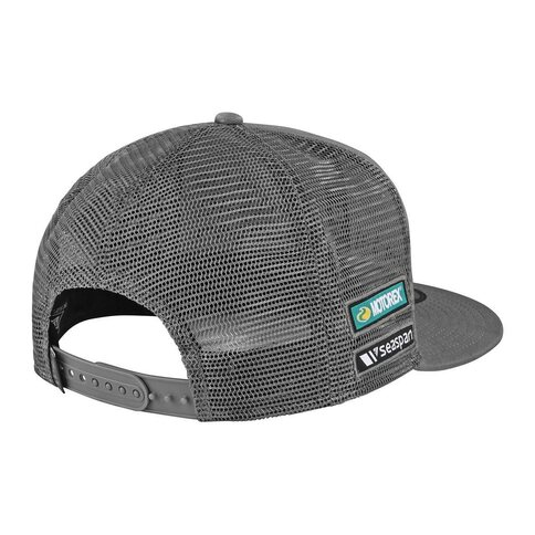 Troy Lee Designs Team Snapback Grau Grey