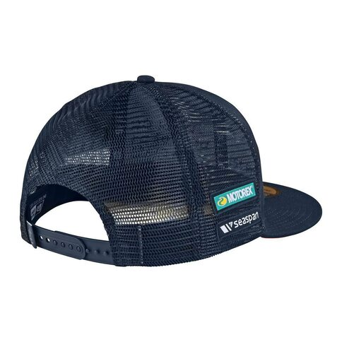 Troy Lee Designs Team Snapback Navy Blau