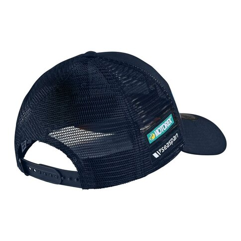 Troy Lee Designs Snapback Navy Blau Curve