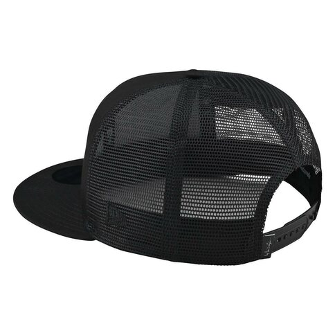 Troy Lee Designs Stock Snapback Black Schwarz