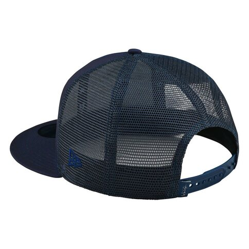Troy Lee Designs Stock Snapback Navy Blau