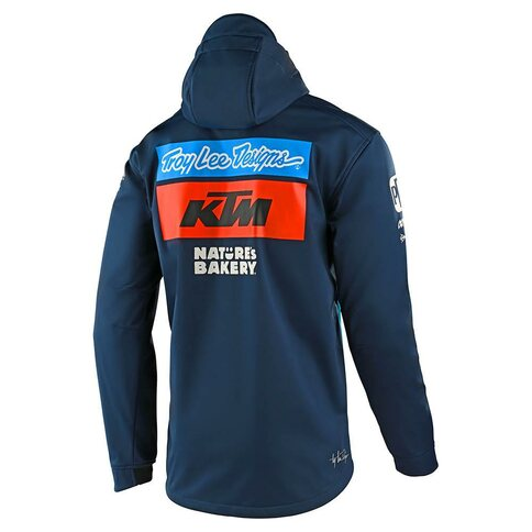 Troy Lee Designs TLD KTM Team Pit Jacke Blau