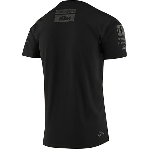 Troy Lee Designs KTM Team Tee Shirt Schwarz