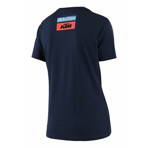 Troy Lee Designs KTM Team Tee Shirt Woman Blau